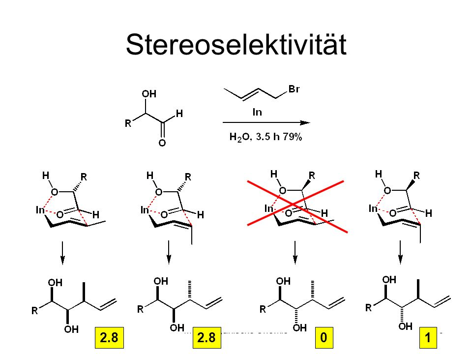 Metallorganische Chemie30 Stereoselektivität 2.8 01