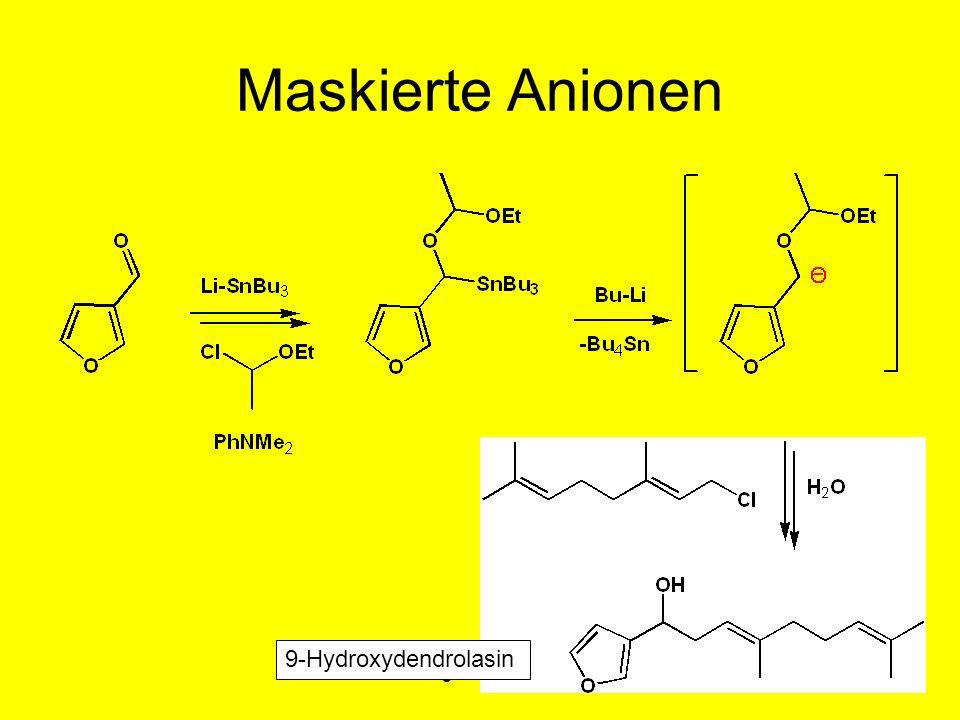 Metallorganische Chemie1 Maskierte Anionen 9-Hydroxydendrolasin