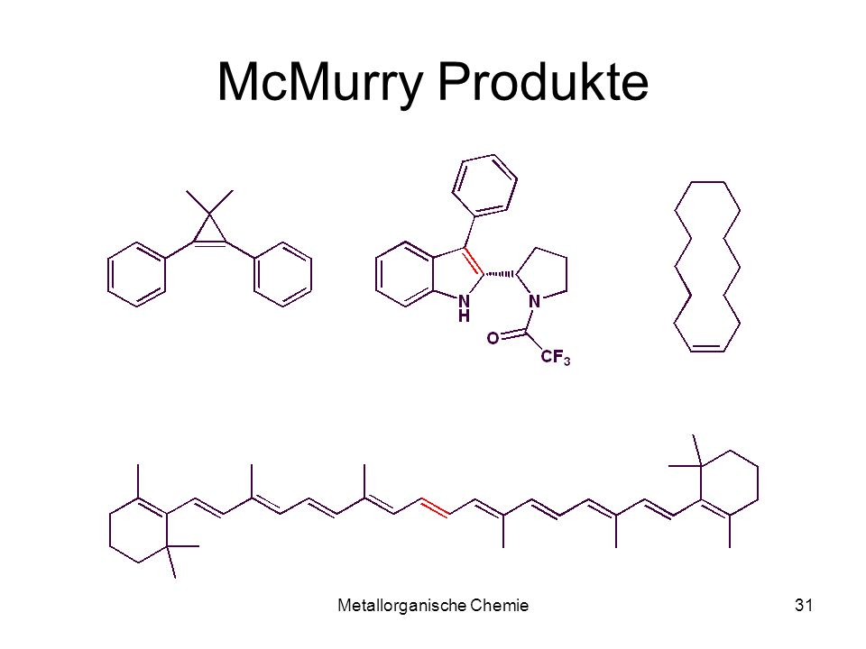 Metallorganische Chemie30 McMurry-Kupplung