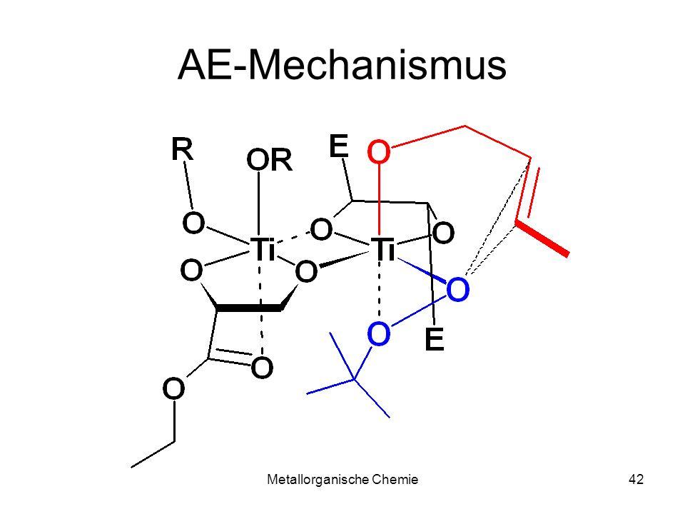 Metallorganische Chemie41 AE-Mechanismus