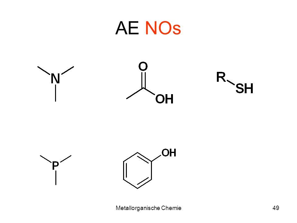 Metallorganische Chemie48 AE - Limitationen Mindestens 5M TBHP Lösung.
