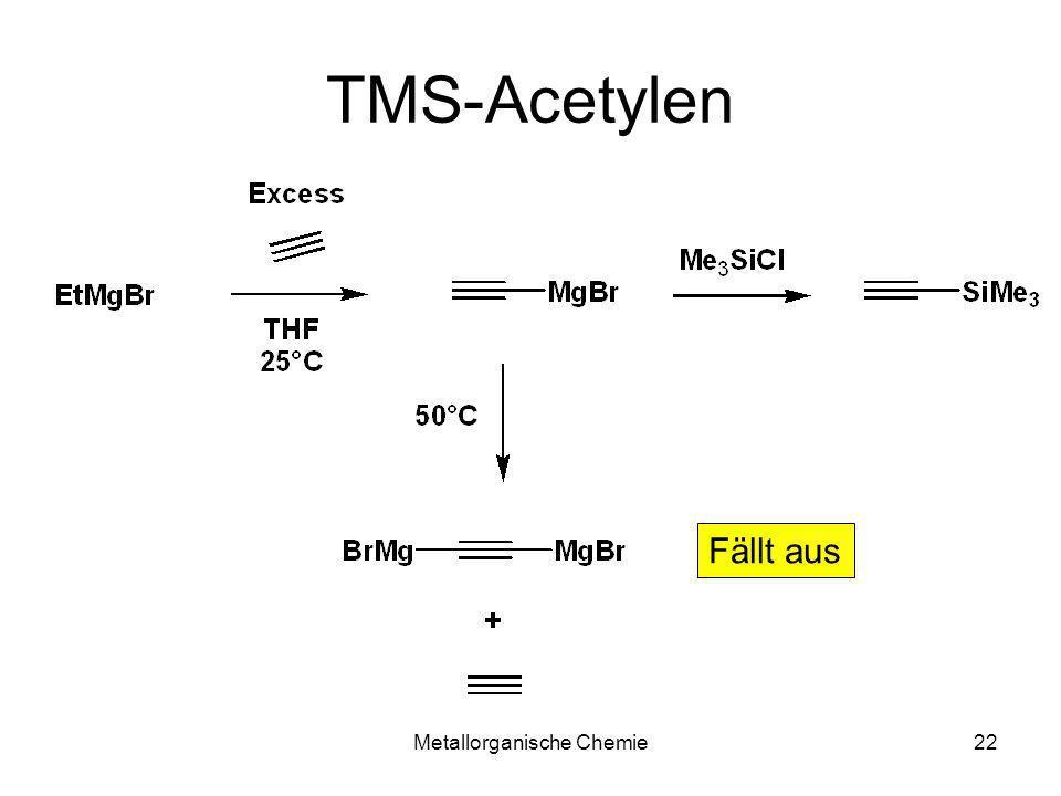 Metallorganische Chemie22 TMS-Acetylen Fällt aus