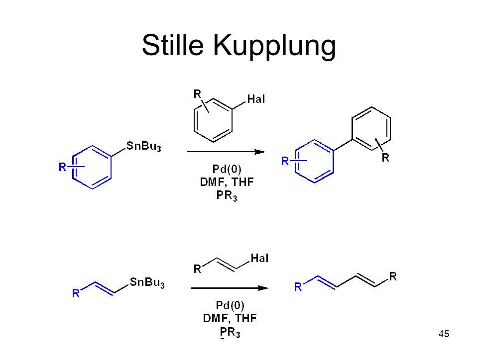Metallorganische Chemie45 Stille Kupplung