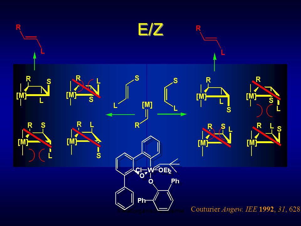 Metallorganische Chemie87 E/Z Couturier Angew. IEE 1992, 31, 628