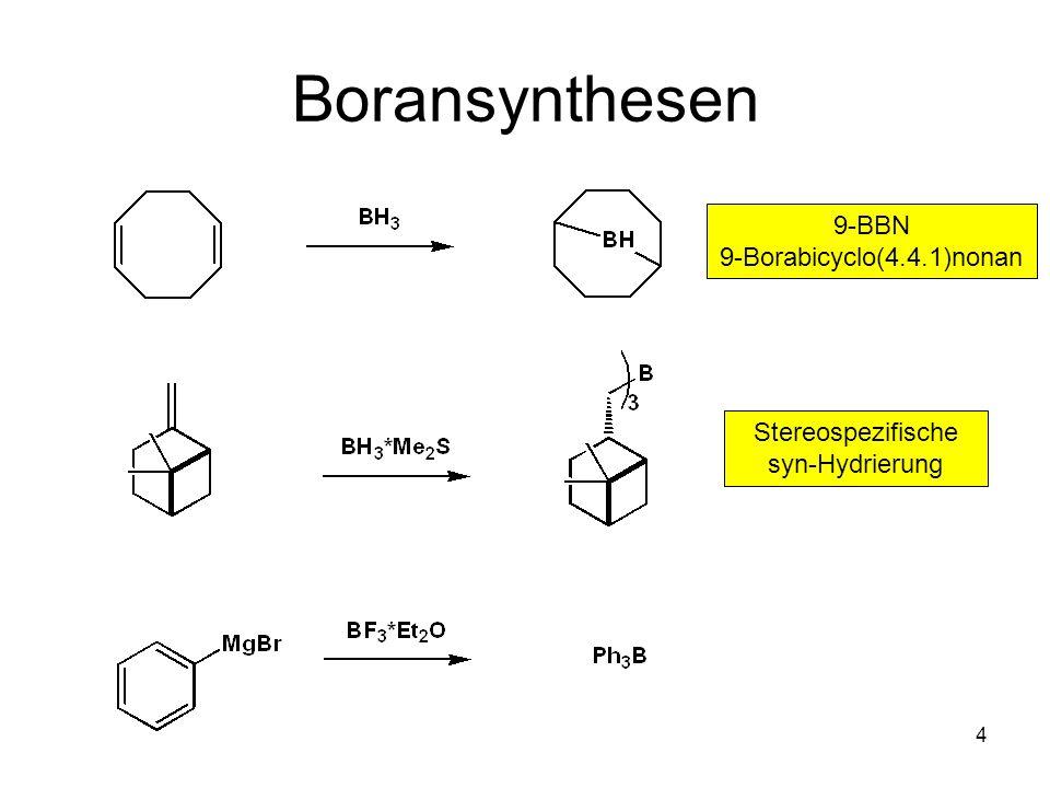 15 Chirale Borane: IPC 2 BH C2-symmetrische enantiotope Umgebung