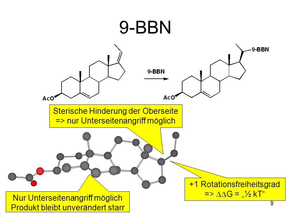 40 DIBAH in Hexan anti-Addition Thermodynamisches Produkt Ether bremst die Lewis Azidität der Al-Alkyle