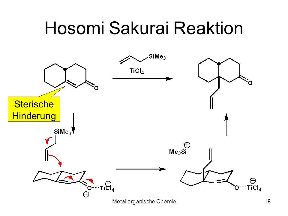 Metallorganische Chemie18 Hosomi Sakurai Reaktion Sterische Hinderung