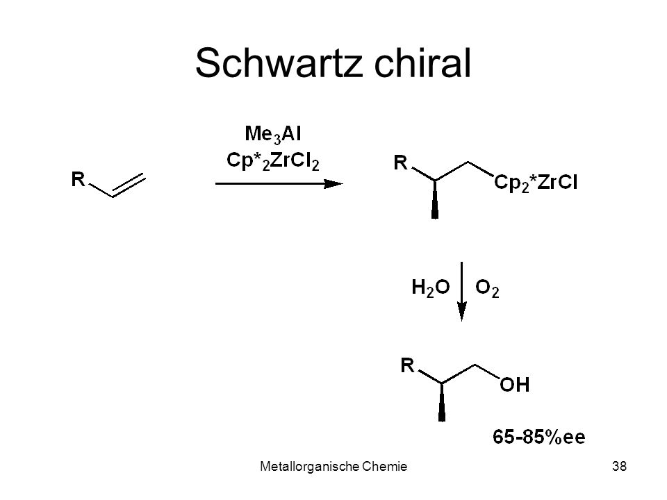 Metallorganische Chemie38 Schwartz chiral