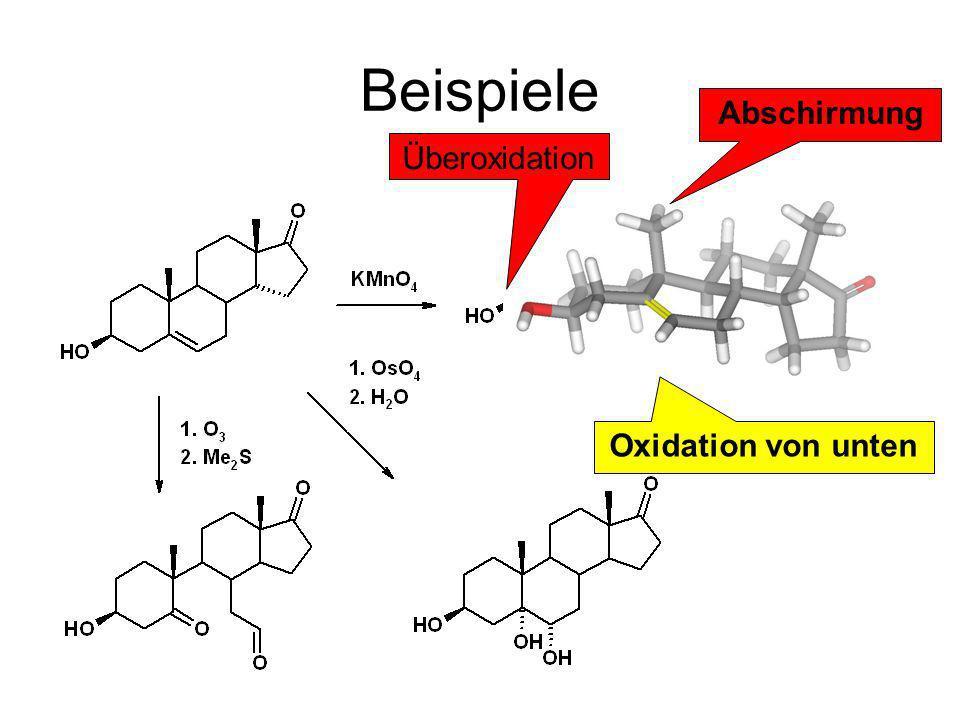 Oxidation von unten Abschirmung Überoxidation