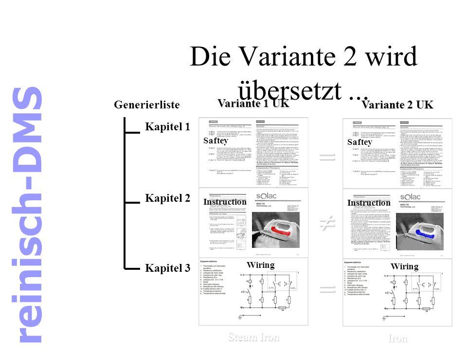 Kapitel 2 im Detail Kapitel 2 liegt bereits übersetzt in Variante 1 vor.