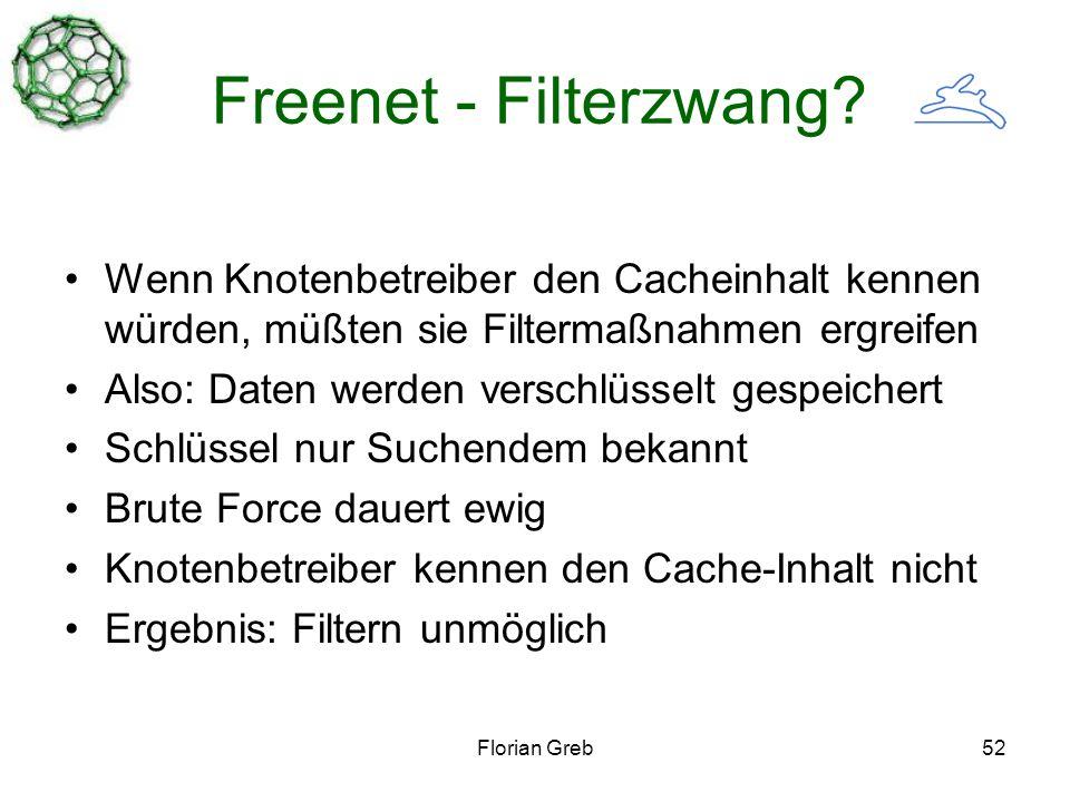 Florian Greb52 Freenet - Filterzwang.