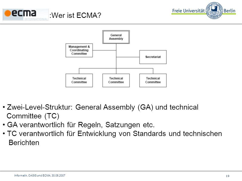 :Wer ist ECMA.