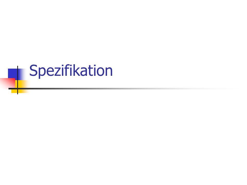 Spezifikation