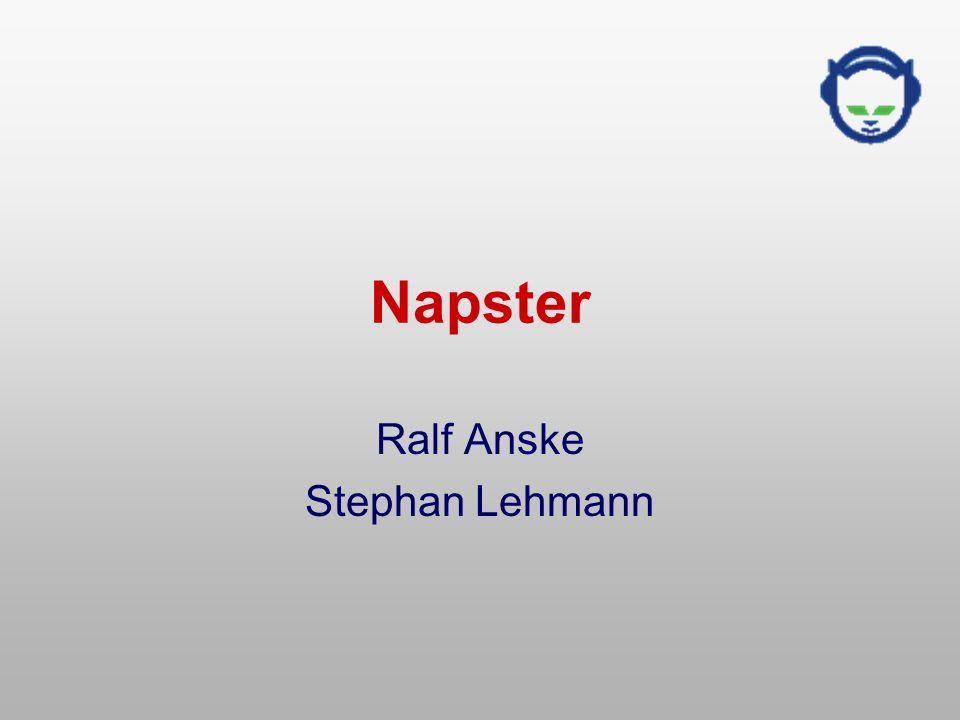 Napster Ralf Anske Stephan Lehmann