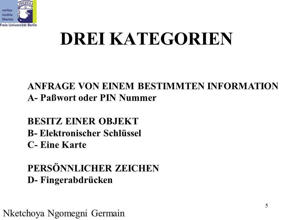 26 Beispiel 3 Demonstration auf meine Webseite bei www.inf.fu-berlin.de/~nketchoy Nketchoya Ngomegni Germain