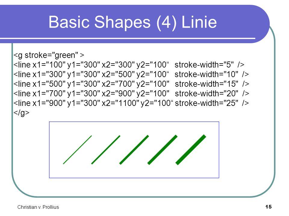 Christian v. Prollius15 Basic Shapes (4) Linie