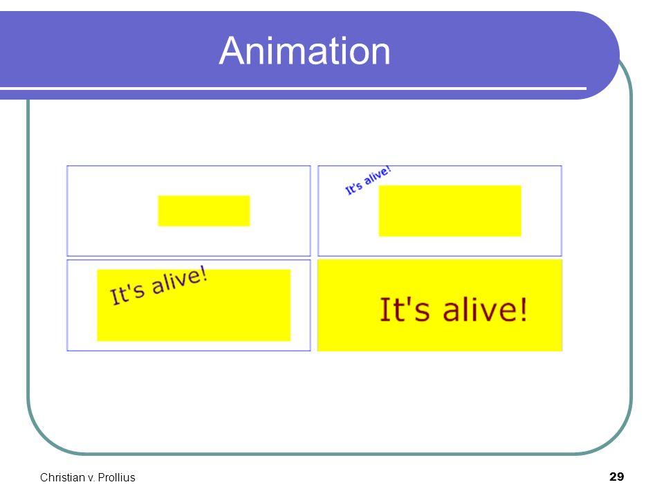 Christian v. Prollius29 Animation