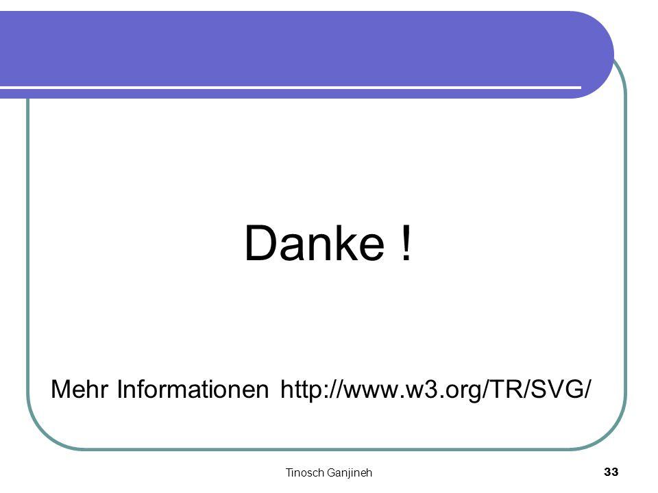 Tinosch Ganjineh33 Danke ! Mehr Informationen http://www.w3.org/TR/SVG/