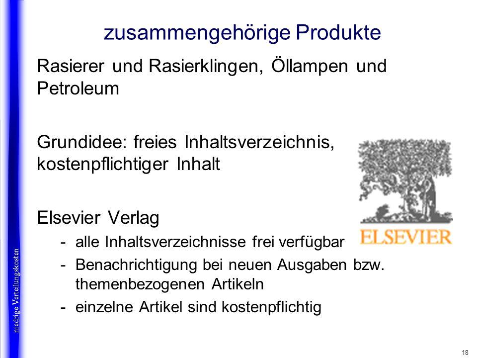 18 zusammengehörige Produkte Rasierer und Rasierklingen, Öllampen und Petroleum Grundidee: freies Inhaltsverzeichnis, kostenpflichtiger Inhalt Elsevie