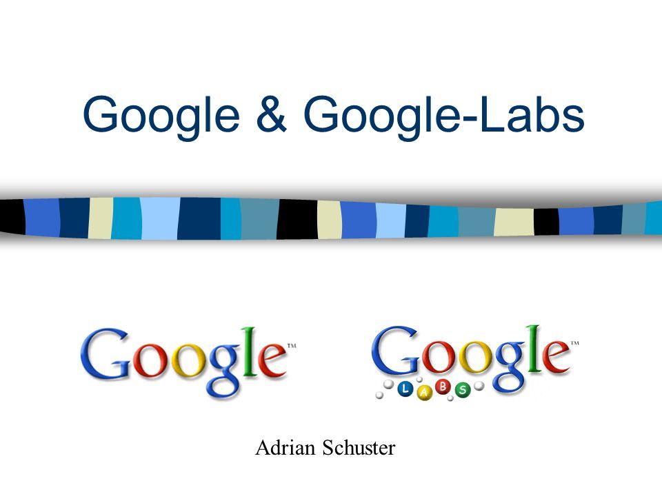 Google & Google-Labs Adrian Schuster