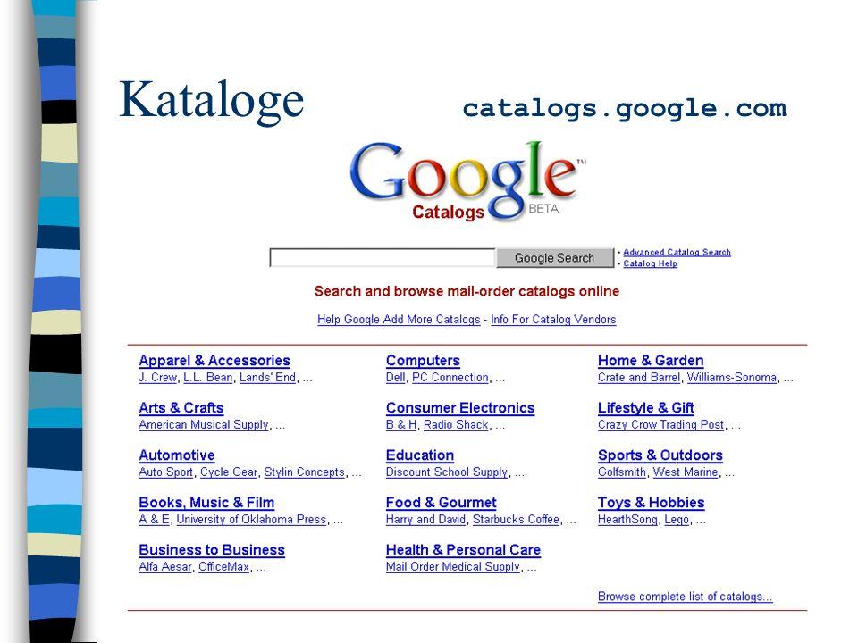 Kataloge catalogs.google.com