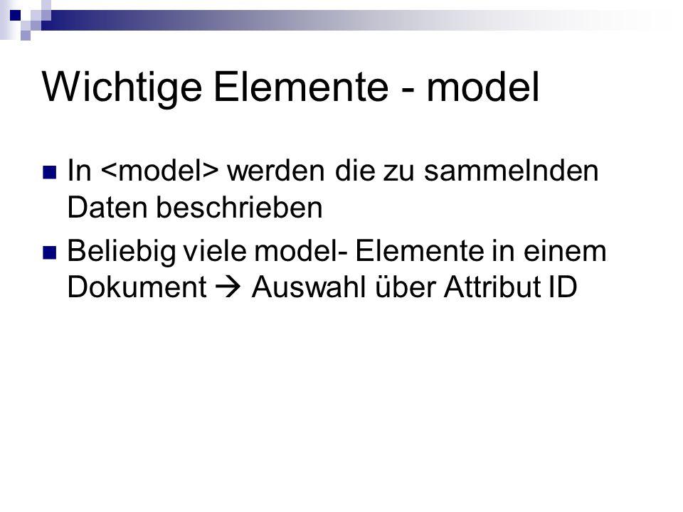 Wichtige Elemente - instance Optionales Element Enthält vorgegebene Werte für bestimmte Elemente (oder eine Referenz darauf)