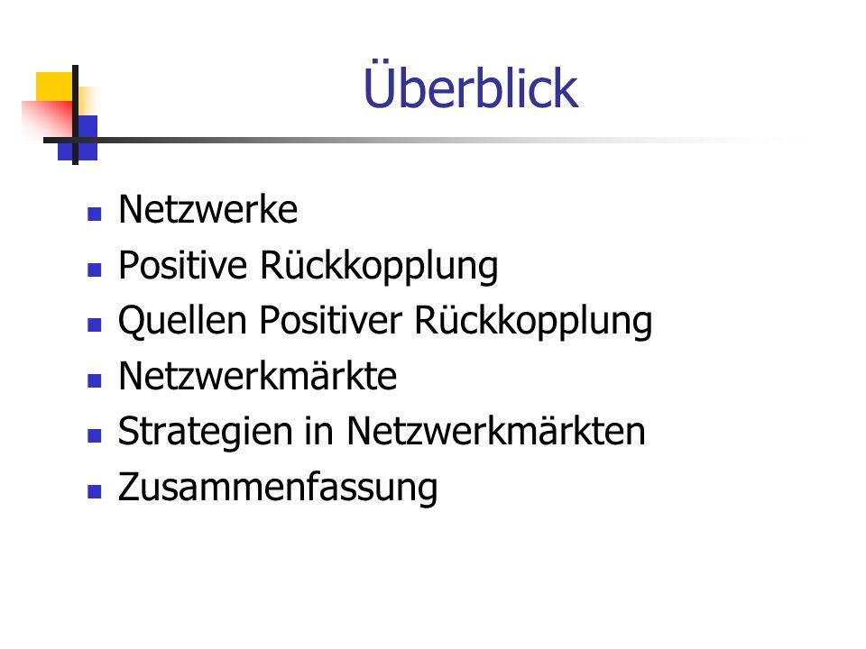 Beispiel 1:Filesharing-Netzwerke Quelle:Wirtschaftsinformatik 45 (2003) 3, S.261-271