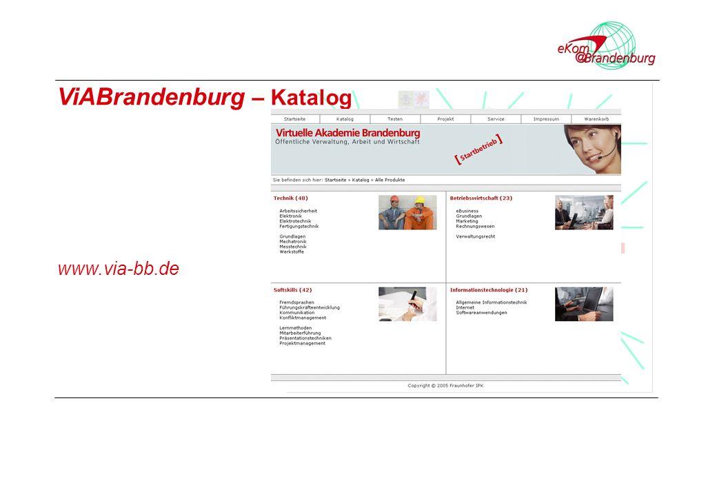 ViABrandenburg – Katalog www.via-bb.de