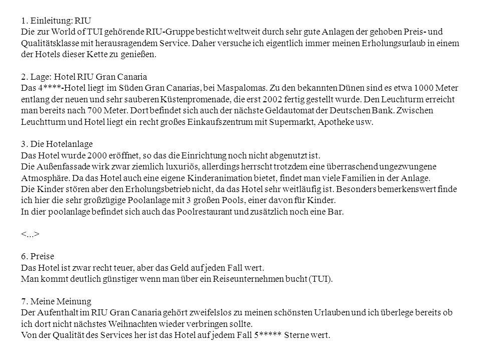 Manfred Stede Mehrschichtige Repräsentation Alles spricht gegen den Steglitzer Kreisel.