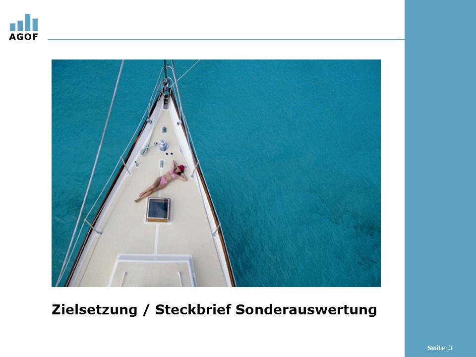 Seite 14 Online-Kauf von Reise & Touristik Basis: 103.509 Fälle (Internetnutzer letzte 3 Monate) Quelle: AGOF e.V.