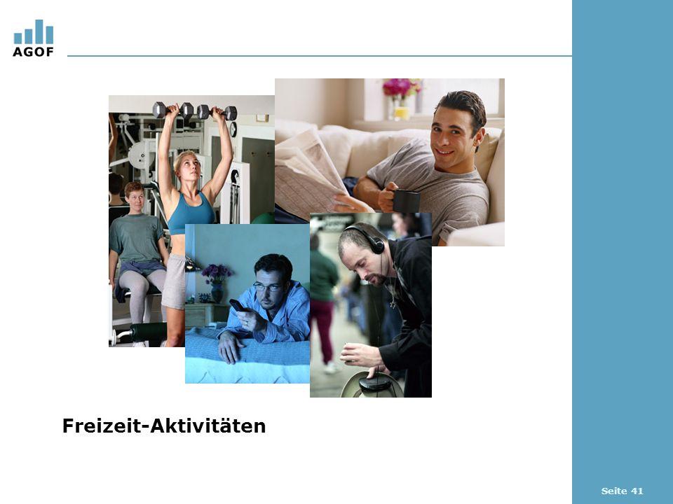 Seite 41 Freizeit-Aktivitäten
