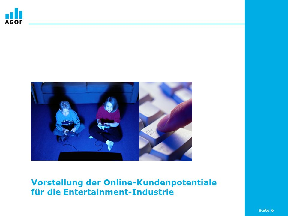 Seite 17 Top 5 Produkte nach Index bei sich online zu Entertainment informierenden Internetnutzern (WNK) Basis: 104.154 ungewichtete Fälle (Internetnutzer letzte 3 Monate) Angaben in Prozent und als Index / Quelle: AGOF e.V.