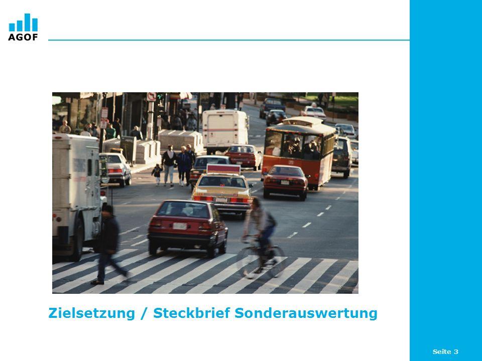 Seite 4 Sonderauswertung Automobil (1) Im Rahmen der Sonderauswertung Automobil auf Basis der internet facts 2008-I stellt die AGOF die online anzutreffenden Kundenpotentiale für diese Branche vor.