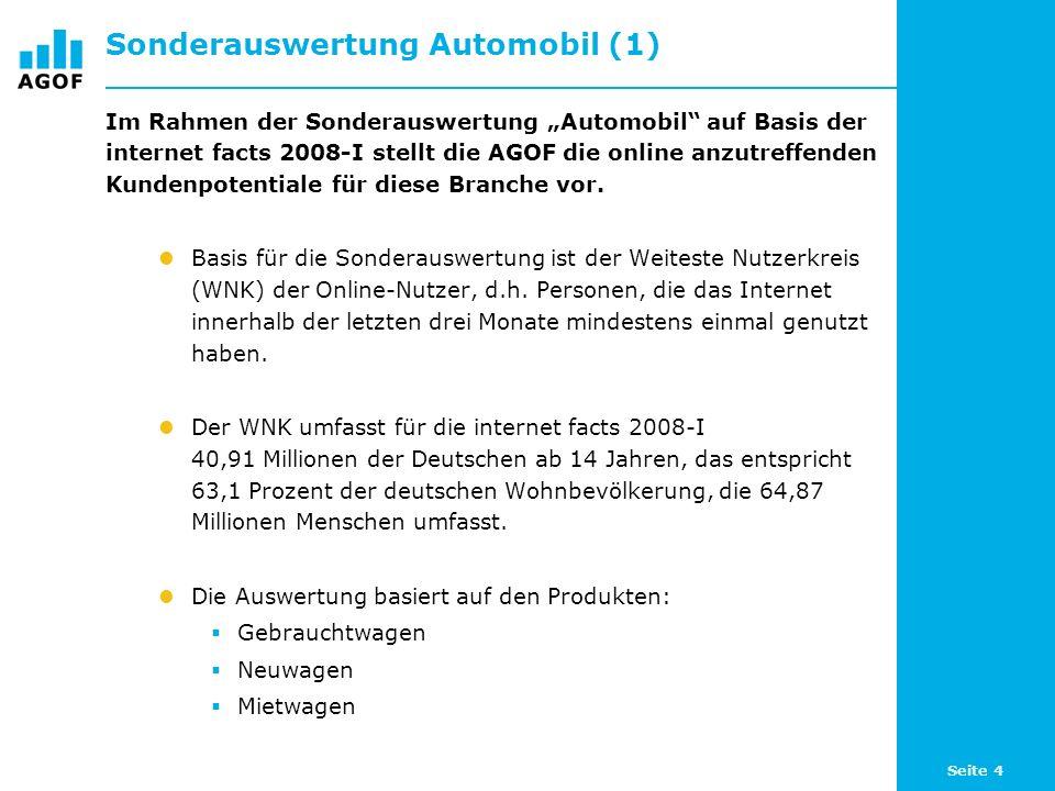 Seite 65 Freizeit-Aktivitäten - Zentrale Daten im Überblick Die klassische Mediennutzung der autoaffinen Nutzergruppen liegt leicht unter dem Niveau der Bevölkerung wie auch der Internetnutzer insgesamt.