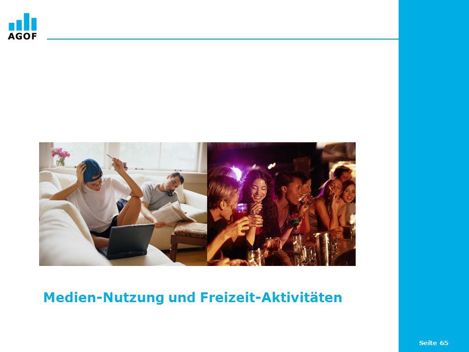 Seite 65 Medien-Nutzung und Freizeit-Aktivitäten