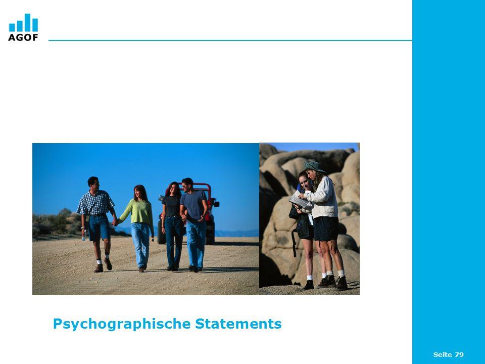 Seite 79 Psychographische Statements