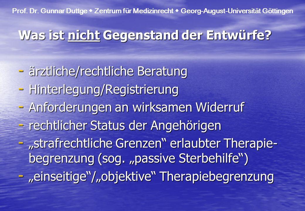 IV.Bewertung - Rechtssicherheit. - (defizitäre) Selbstbestimmung der Patienten.