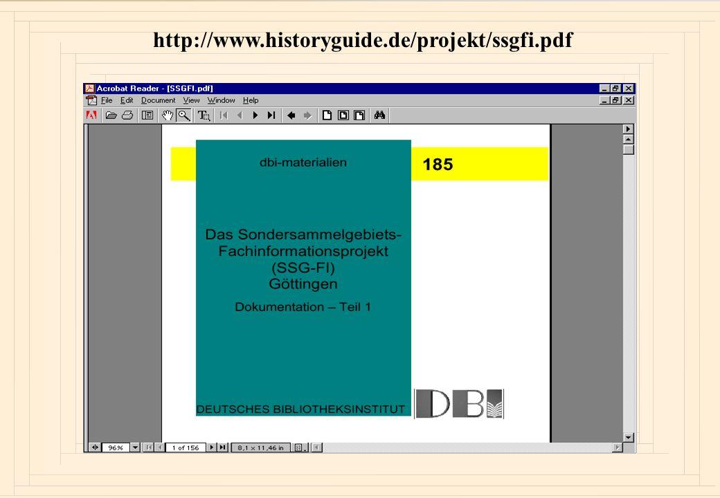 Ziel des Workshops 1.Präsentation der Ergebnisse des SSG-FI-Projektes 2.