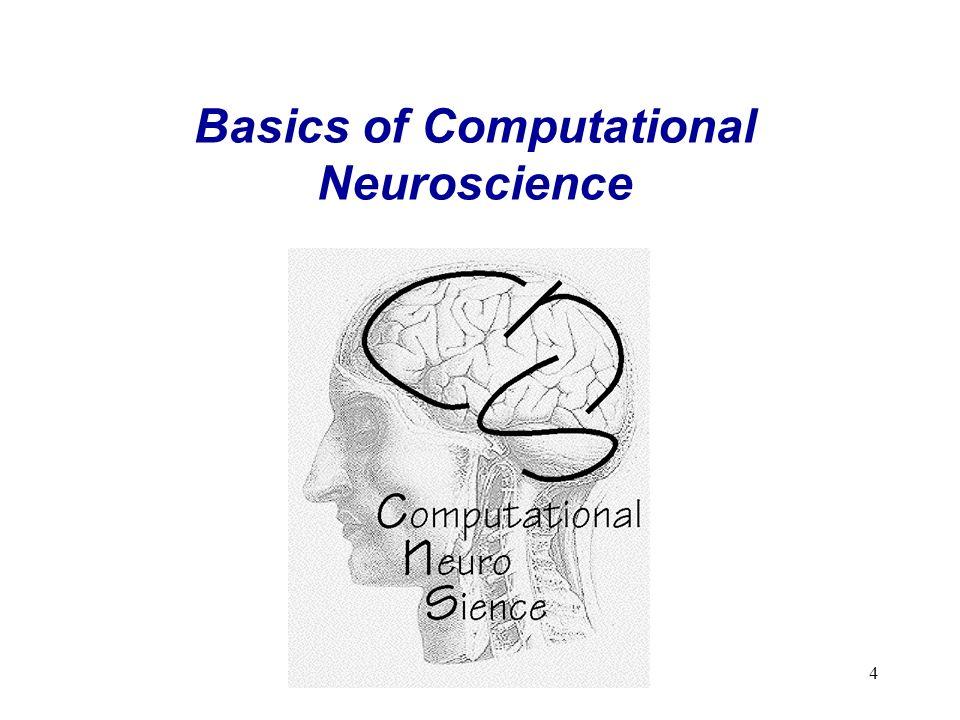 4 Basics of Computational Neuroscience