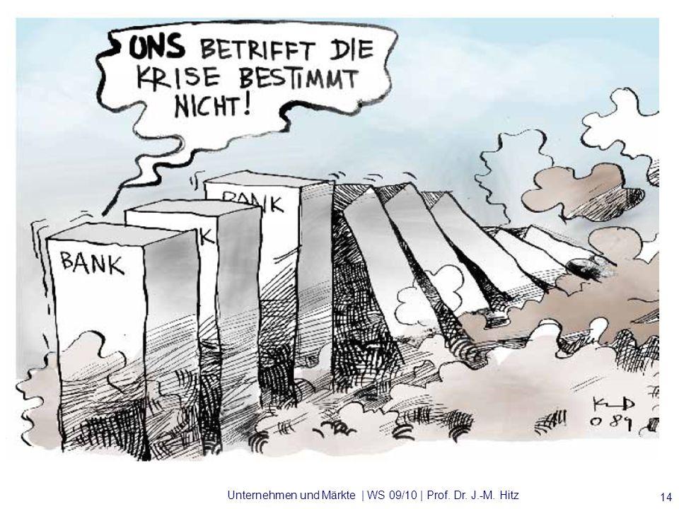 Unternehmen und Märkte | WS 09/10 | Prof. Dr. J.-M. Hitz 14