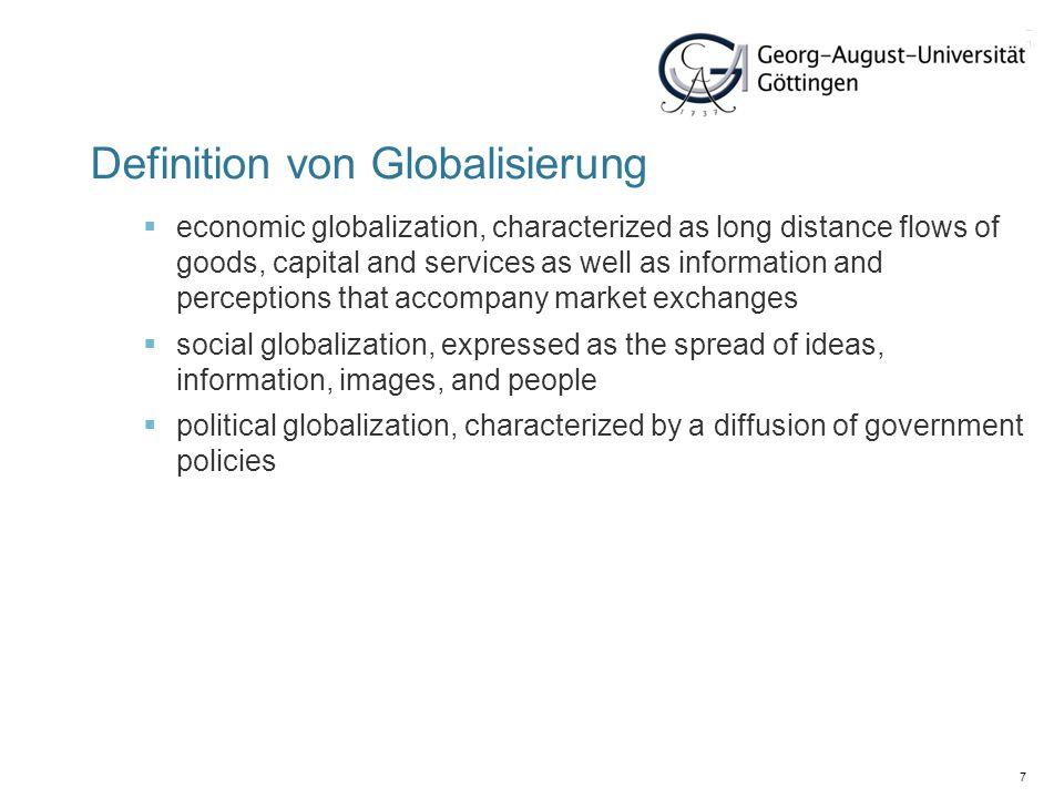 28 Politischer Globalisierungsindex 2009 1.France98.0321.Hungary91.63188.Marshall Islands19.65 2.Italy97.0422.Romania90.88189.Micronesia, Fed.