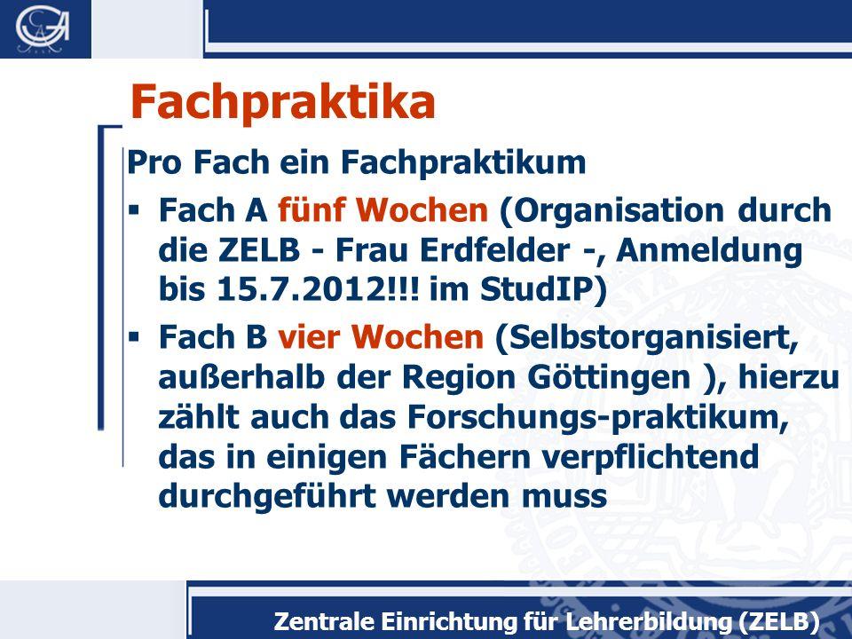Zentrale Einrichtung für Lehrerbildung (ZELB) Anerkennung von Prüfungsleistungen Die Anerkennung fachwissenschaftlicher, fachdidaktischer und bildungs- wissenschaftlicher Prüfungsleistungen erfolgt über die Fachberatungen.