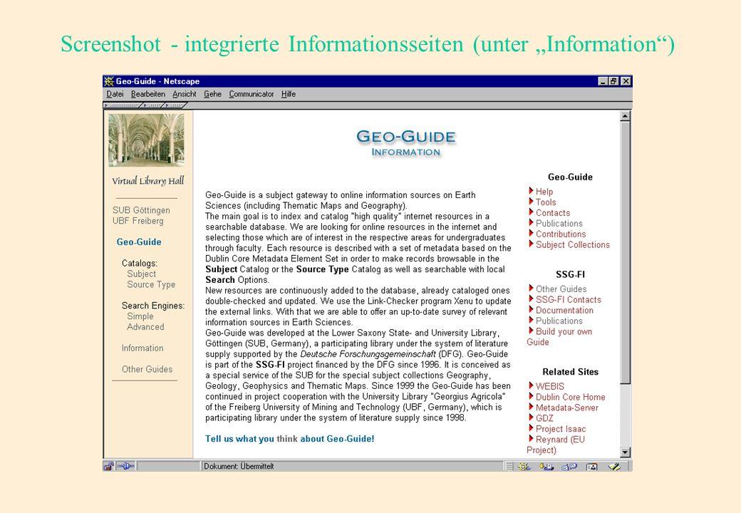Screenshot - Kompletter Metadatensatz (Fortsetzung)