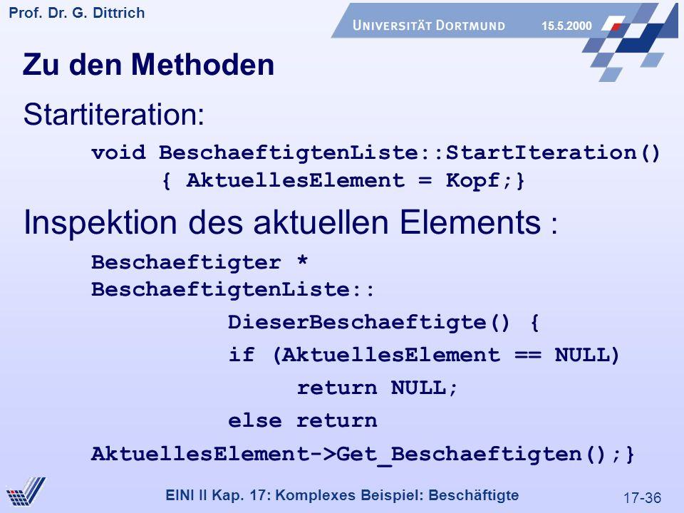 17-36 Prof. Dr. G. Dittrich 15.5.2000 EINI II Kap.