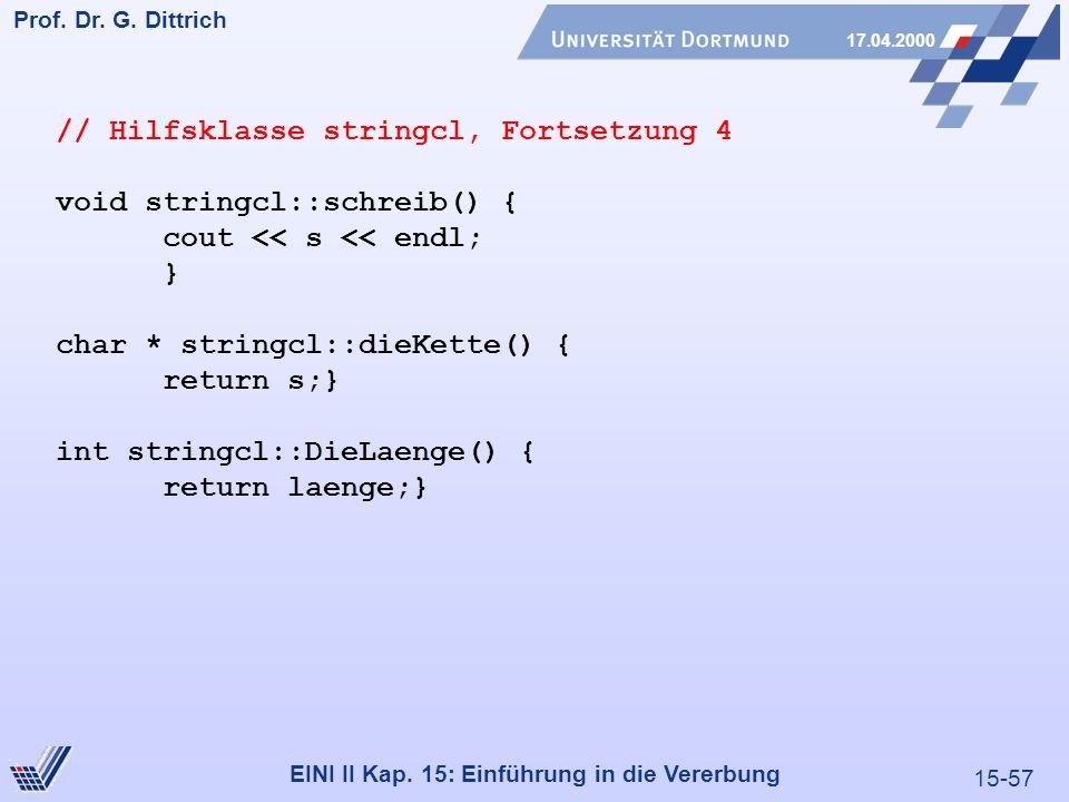 15-57 Prof.Dr. G. Dittrich 17.04.2000 EINI II Kap.