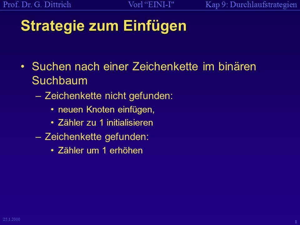 Kap 9: DurchlaufstrategienVorl EINI-I