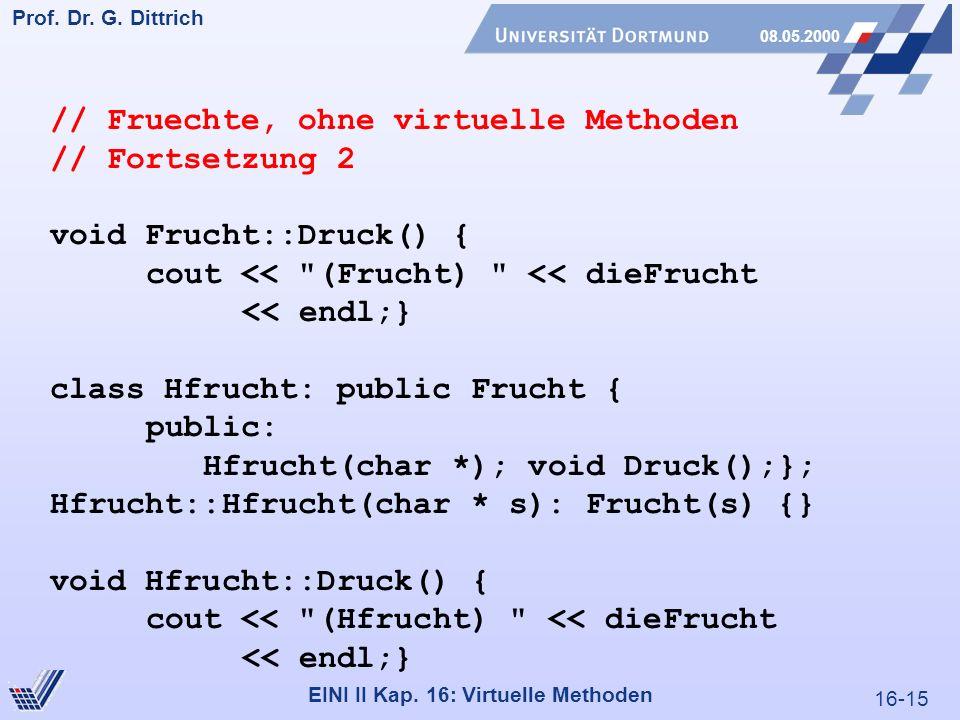16-15 Prof. Dr. G. Dittrich 08.05.2000 EINI II Kap.