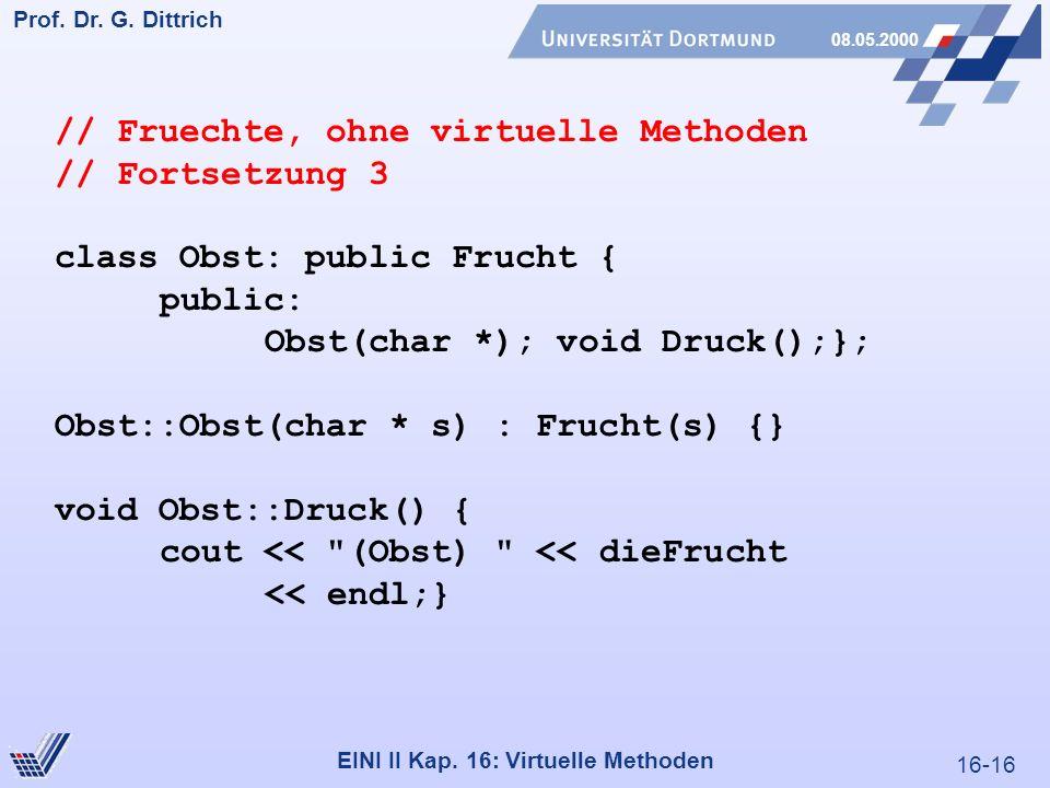 16-16 Prof. Dr. G. Dittrich 08.05.2000 EINI II Kap.
