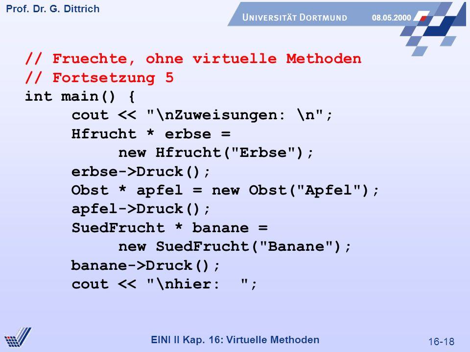 16-18 Prof. Dr. G. Dittrich 08.05.2000 EINI II Kap.
