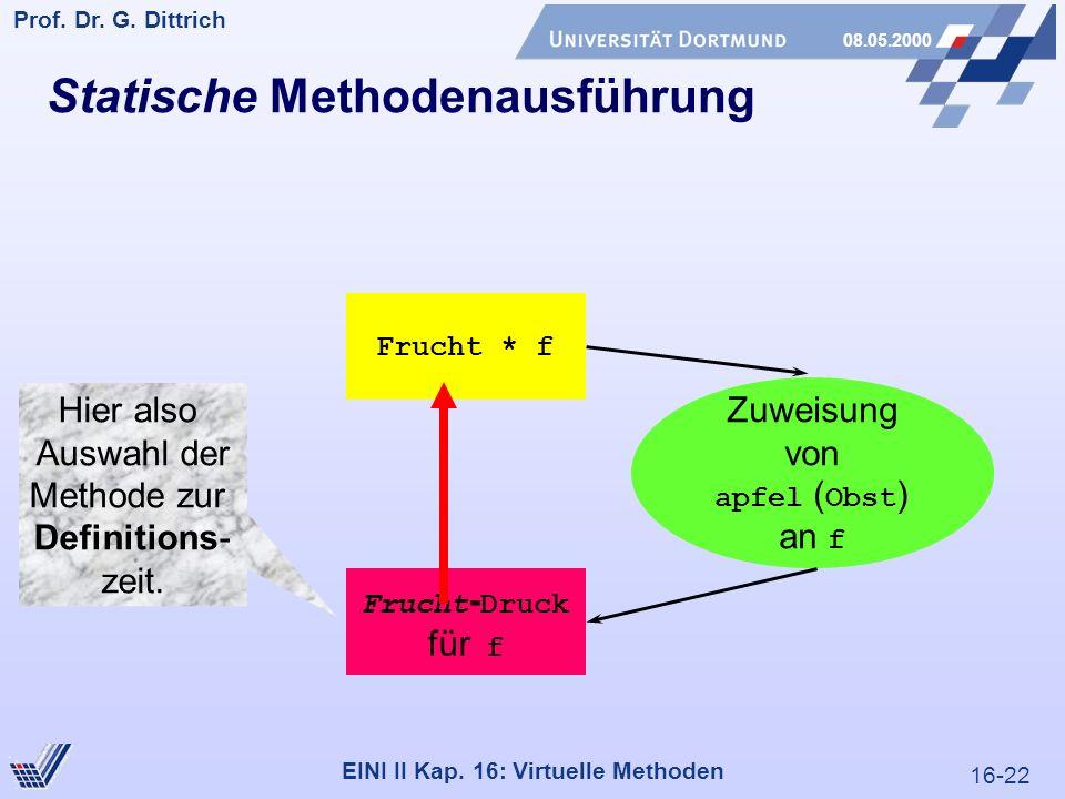 16-22 Prof. Dr. G. Dittrich 08.05.2000 EINI II Kap.